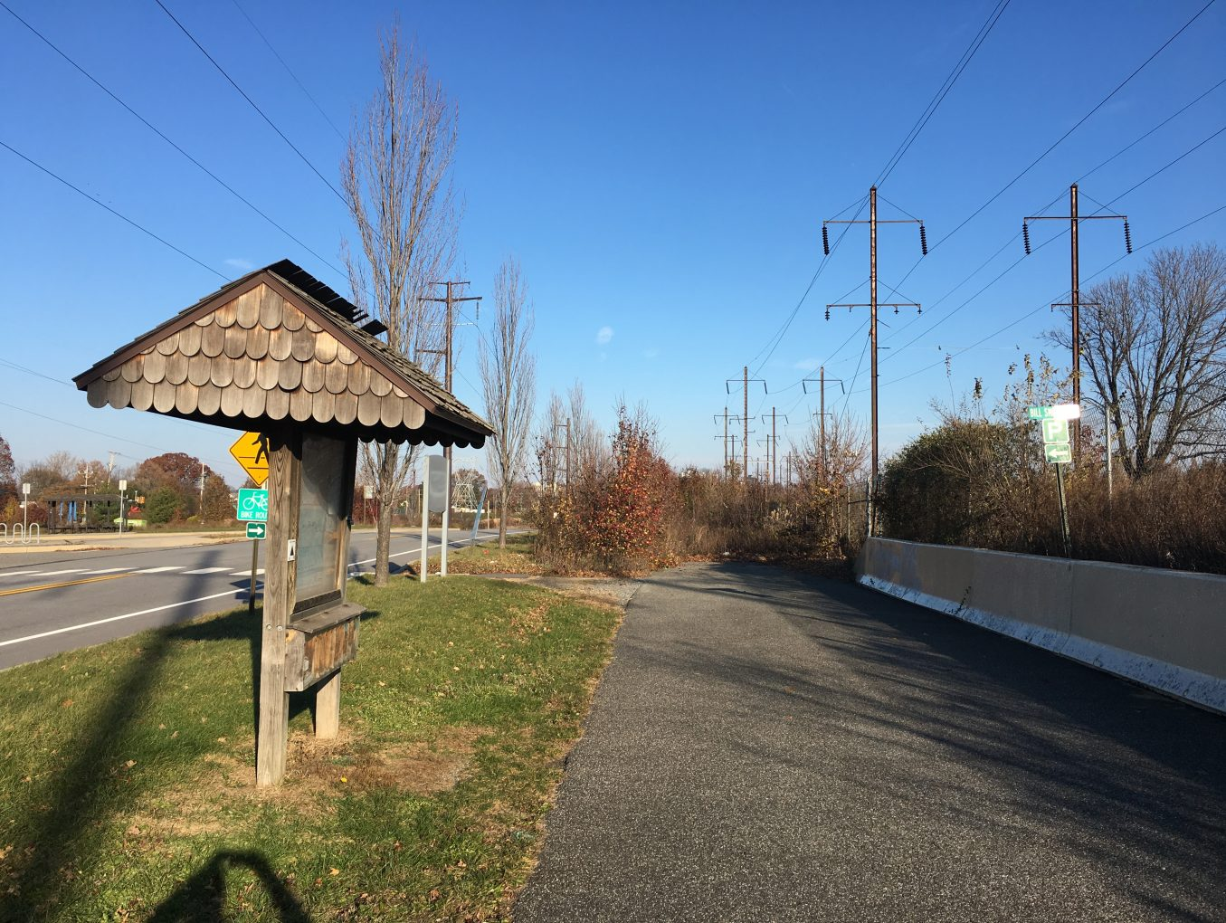 Chester Valley Trail (Exton to KOP and KOP to Norristown)