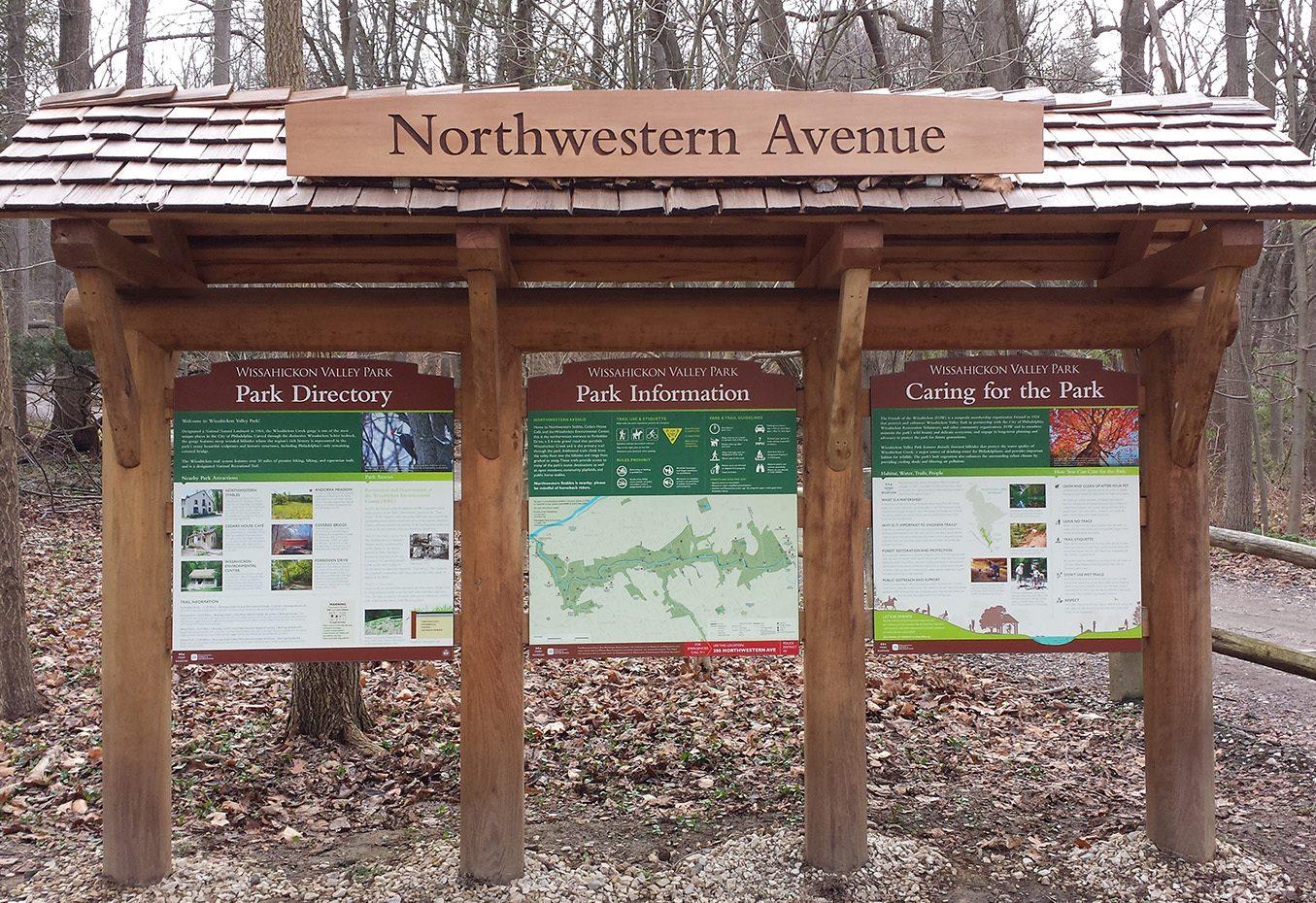 Wissahickon Valley Park Wayfinding and Signage